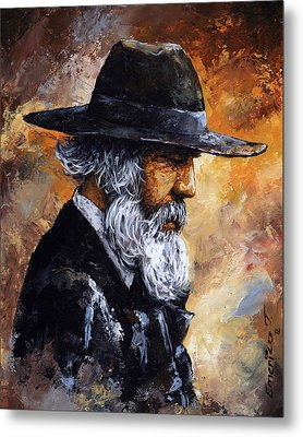 Old Man Metal Print by Emerico Imre Toth