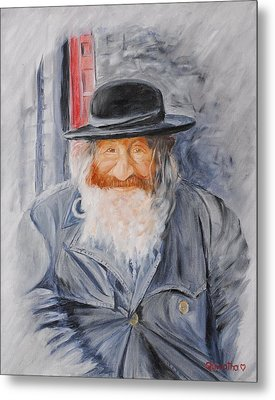Old Man Of Jerusalem Metal Print by Quwatha Valentine