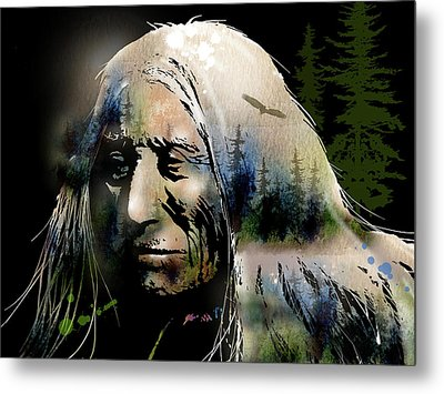 Old Man Of The Woods Metal Print by Paul Sachtleben
