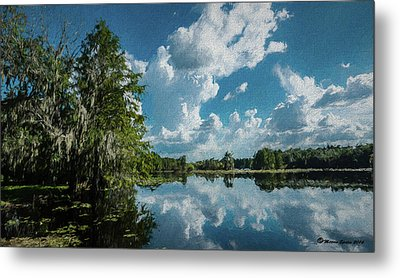 Old Man River Metal Print by Marvin Spates