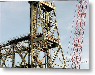 Old Memorial Bridge Metal Print