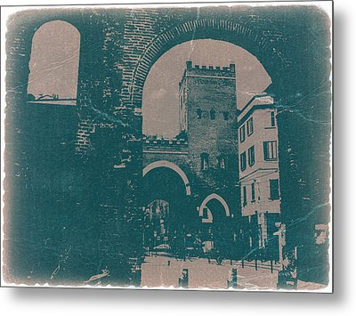 Old Milan Metal Print by Naxart Studio