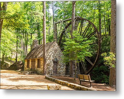 Old Mill At Berry College Metal Print by Sussman Imaging