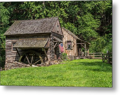 Old Mill Cuttalossa Farm Pennsylvania Metal Print by Terry DeLuco