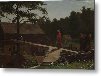 Old Mill  Metal Print by Winslow Homer