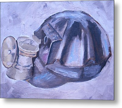 Old Miner Hat Metal Print by Mikayla Ziegler