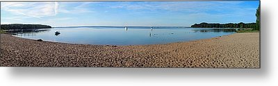 Old Mission Harbor Metal Print by Twenty Two North Photography