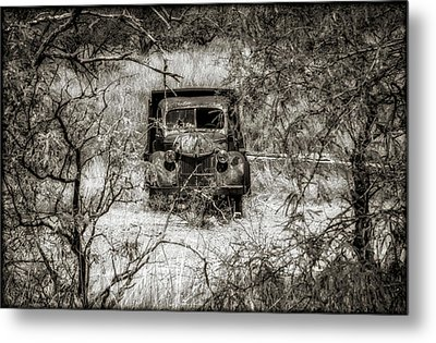 Old N Forgotten Metal Print
