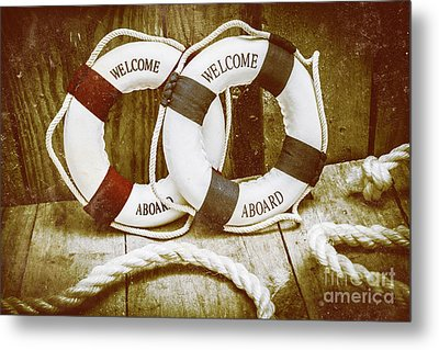 Old Nautical Art Metal Print by Jorgo Photography - Wall Art Gallery