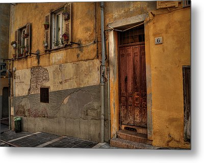 Metal Print featuring the photograph Old Nice - Vieille Ville 008 by Lance Vaughn