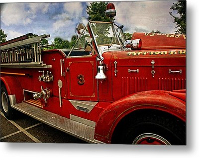 Metal Print featuring the photograph Old Number 3 by Marty Koch