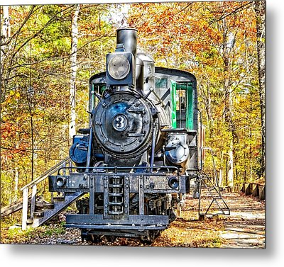 Old Number 3 Metal Print by Susan Leggett