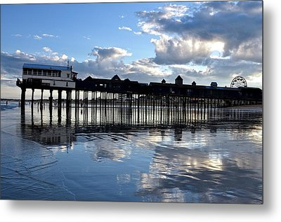 Old Orchard Beach Pier Metal Print