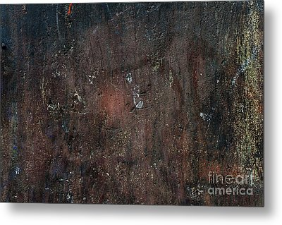 Metal Print featuring the photograph Old Plastered And Painted Wall by Elena Elisseeva