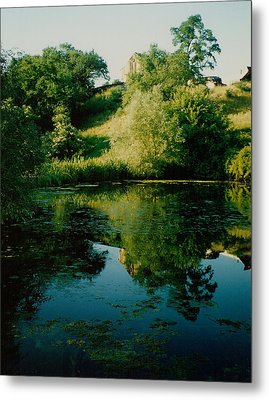 Metal Print featuring the photograph Old Pond by Kathleen Stephens
