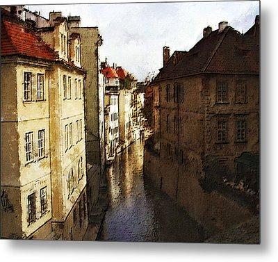 Old Prague Metal Print by Jo-Anne Gazo-McKim