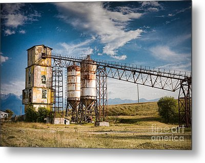 Old Quarry Metal Print