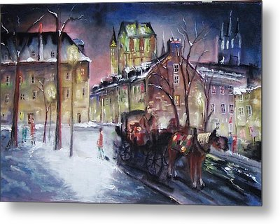 old Quebec Metal Print by Peter Suhocke