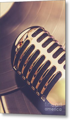 Old Radio Nostalgia Metal Print