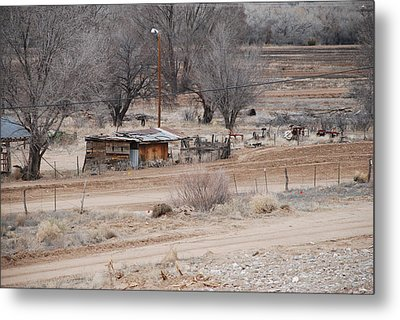 Old Ranch House Metal Print by Rob Hans