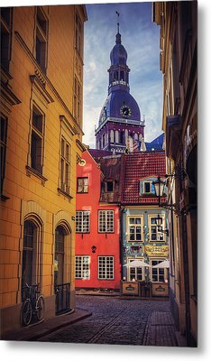 Old Riga  Metal Print