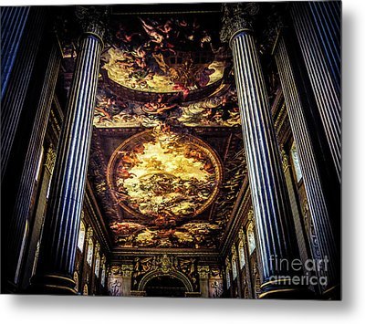 Old Royal Naval College 1 Metal Print by Lexa Harpell