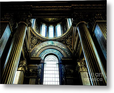 Old Royal Naval College 2 Metal Print by Lexa Harpell