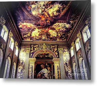 Old Royal Naval College 3 Metal Print by Lexa Harpell