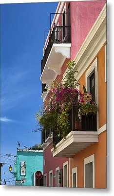 Metal Print featuring the photograph Old San Juan by Patrick Downey