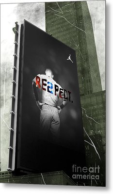Old School Respect Metal Print by John Rizzuto