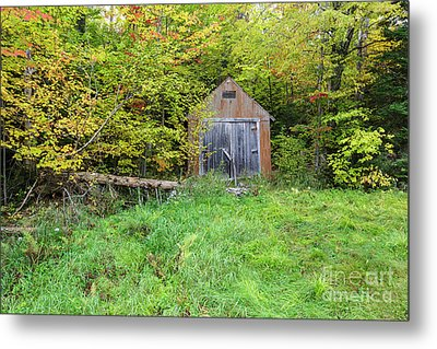 Old Shed - Carroll, New Hampshire Metal Print by Erin Paul Donovan