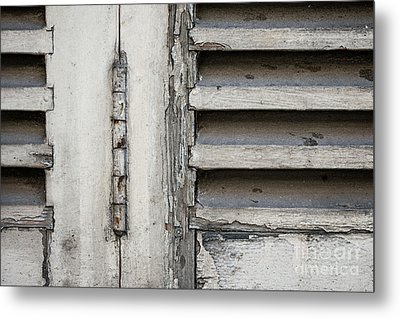 Metal Print featuring the photograph Old Shutters by Elena Elisseeva