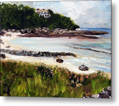Old Silver Beach Falmouth Metal Print