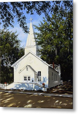 Old St. Andrew Church Metal Print by Rick McKinney
