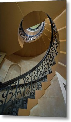 Metal Print featuring the photograph Old Stairway by Robert Harshman
