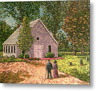 Old Stome Church Metal Print by Frank Morrison