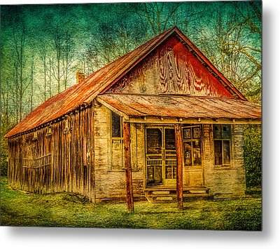 Old Store Metal Print by Phillip Burrow