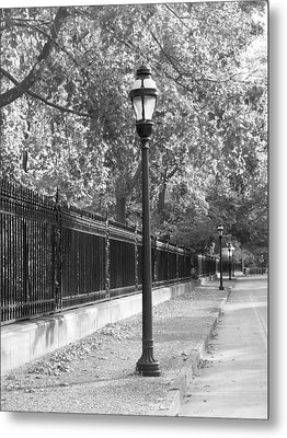 Old Street Lights Metal Print by Amanda Vouglas