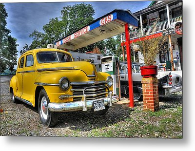 Old Taxi 1 Metal Print by Todd Hostetter