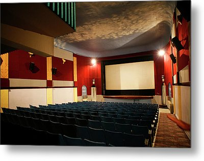 Old Theater Interior 1 Metal Print by Marilyn Hunt