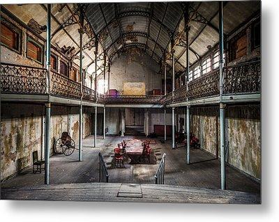 Old Theatre In Decay - Urban Exploration Metal Print by Dirk Ercken