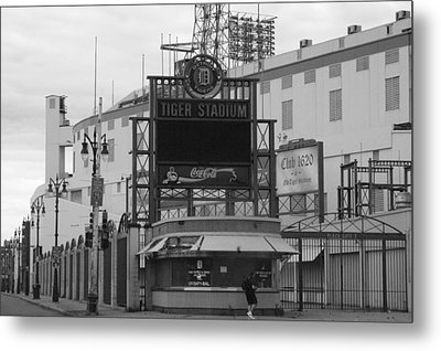 Old Tiger Stadium  Metal Print by Sabrina  Hall