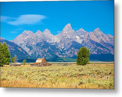 Metal Print featuring the photograph Old Time Community by Robert Pearson