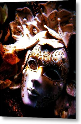 Old Time Masquerade Metal Print