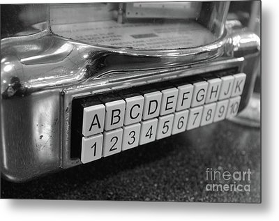 Old Time Rock And Roll Metal Print