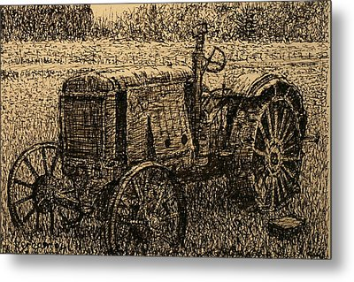 Old Timer Metal Print by Terry Perham