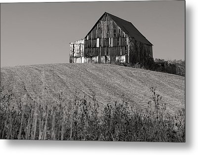 Old Tobacco Barn Metal Print