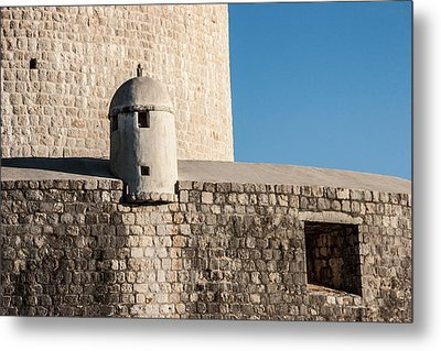 Metal Print featuring the photograph Old Town Dubrovnik by Silvia Bruno