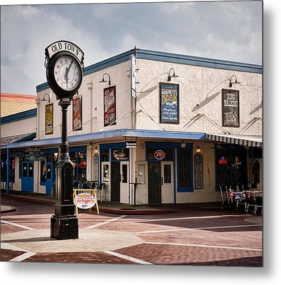 Old Town - Kissimmee - Florida Metal Print