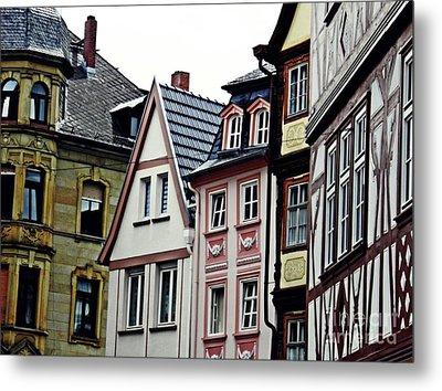 Old Town Mainz Metal Print by Sarah Loft